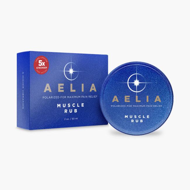 Aelia Muscle Rub Tin 5X Stronger